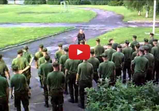 Dança dos tropas - vídeo excelente