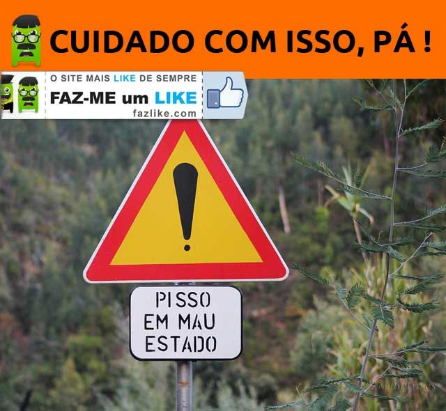 Sinalização de trânsito em Portugal - Humor