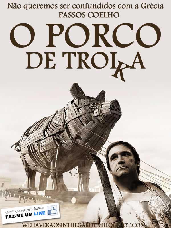Porco de Troika em Portugal
