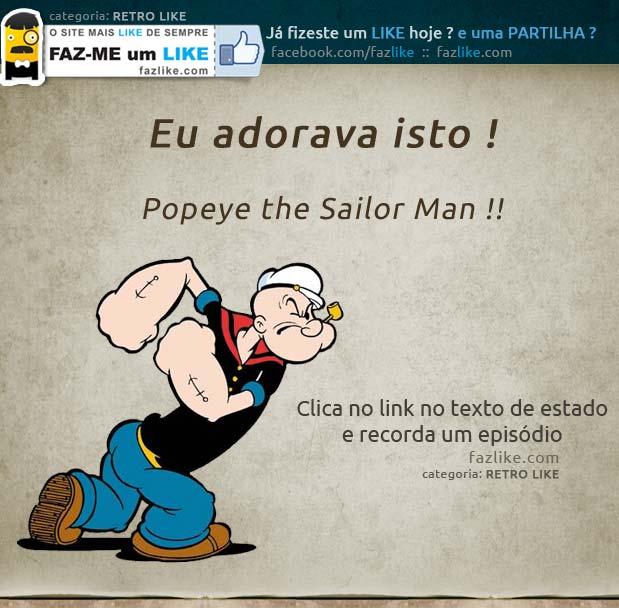 Recordar o Popeye
