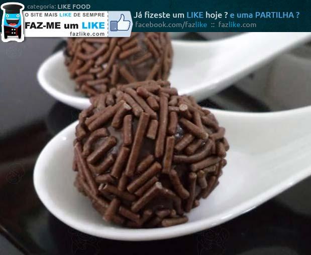 Receita de brigadeiro de chocolate