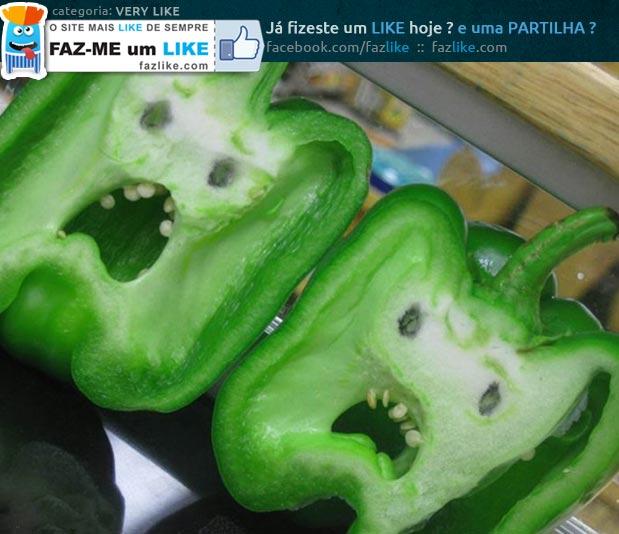 Vegetais assustadores