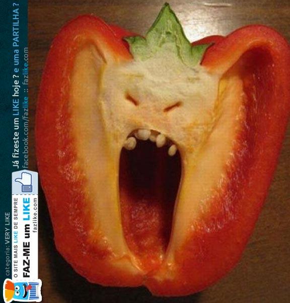 Alimentos assustadores