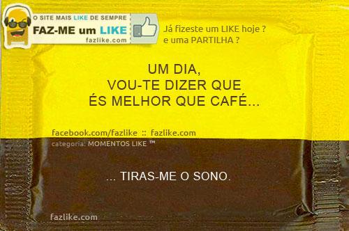 Frase sobre café