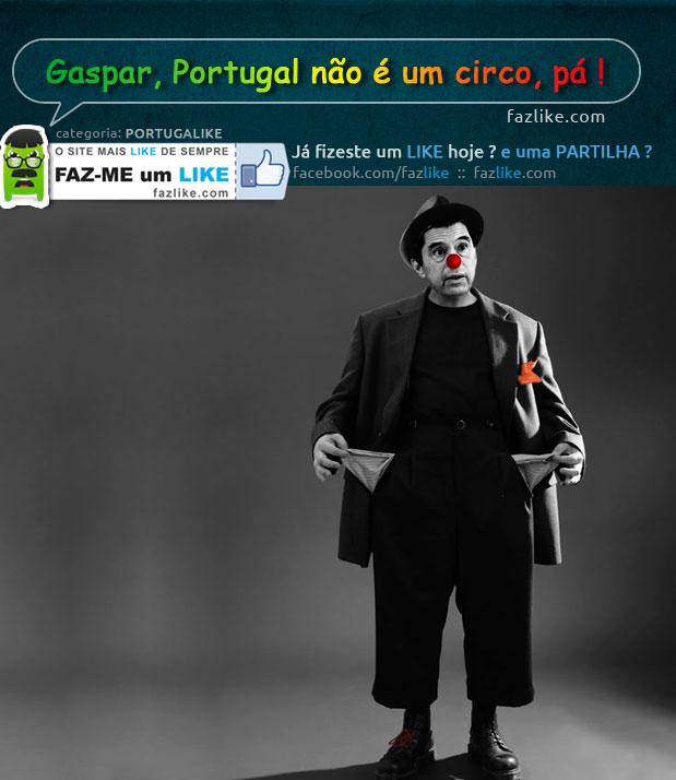 Portugal não é um circo