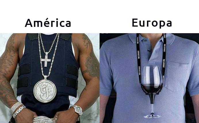América e Europa