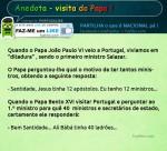 Anedota - Visita do papa