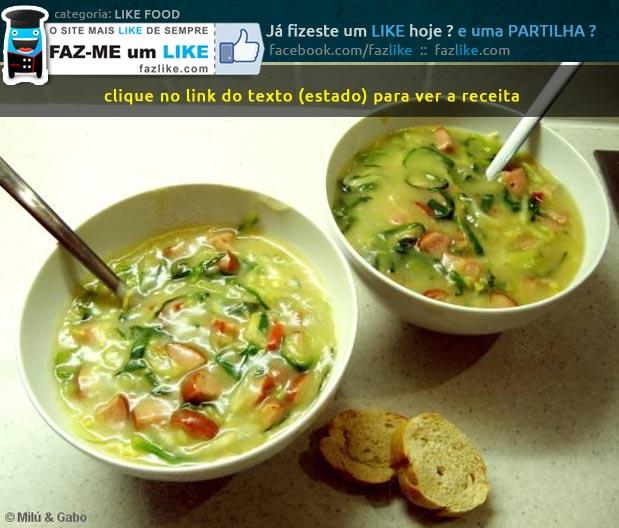 Receita de Caldo Verde à brasileira