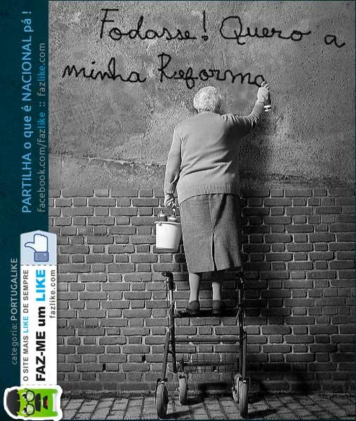 Reformas em Portugal