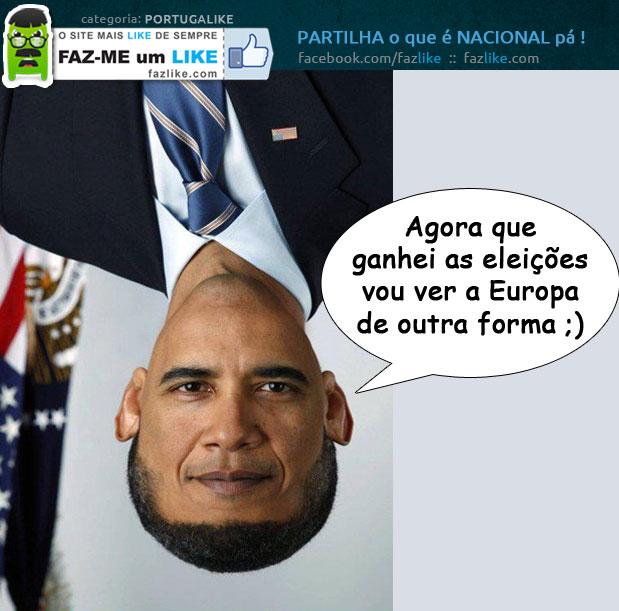 Como Obama vê a Europa