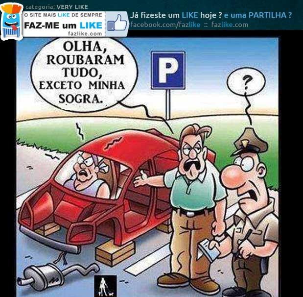 ladrões de carros