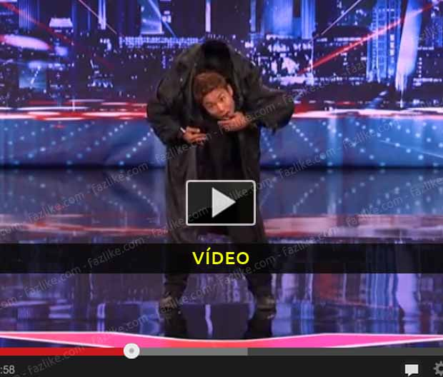 Japonês arrasou no AMERICA'S GOT TALENT - Vídeo