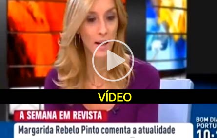 Polemica de Margarida Rebelo de Sousa - Video