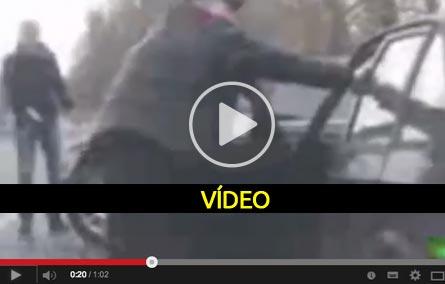Resultado de agredir um idoso - video
