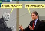 Conversa entre Passos Coelho e Salazar