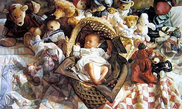 Melhor pintor de aguarelas - Pinturas de Steve Hanks