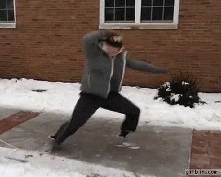 Dança de Inverno - Gifs animados