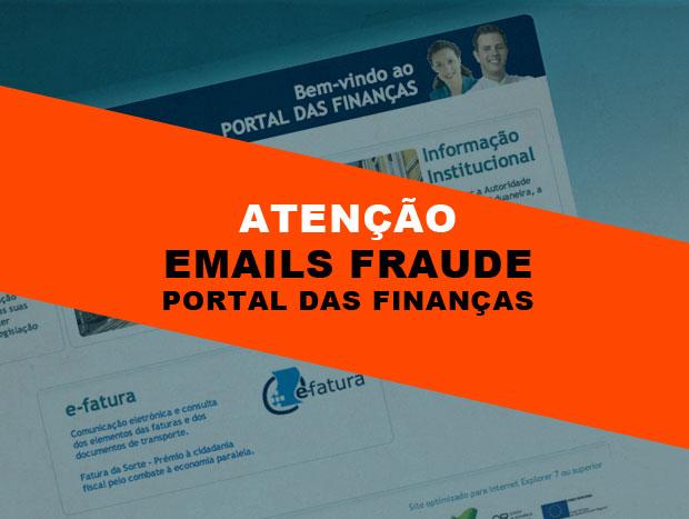 Judiciária alerta para emails fraude - Portal das Finanças