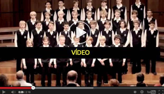 O Coro que gelou o mundo - vídeo