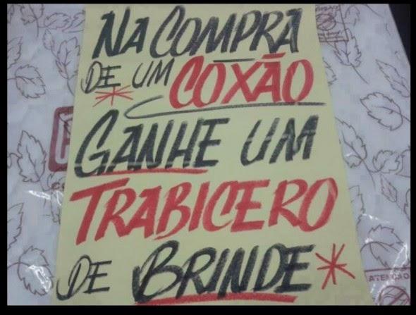 """Promoção à portuguesa - """"cochão com trabicero"""""""